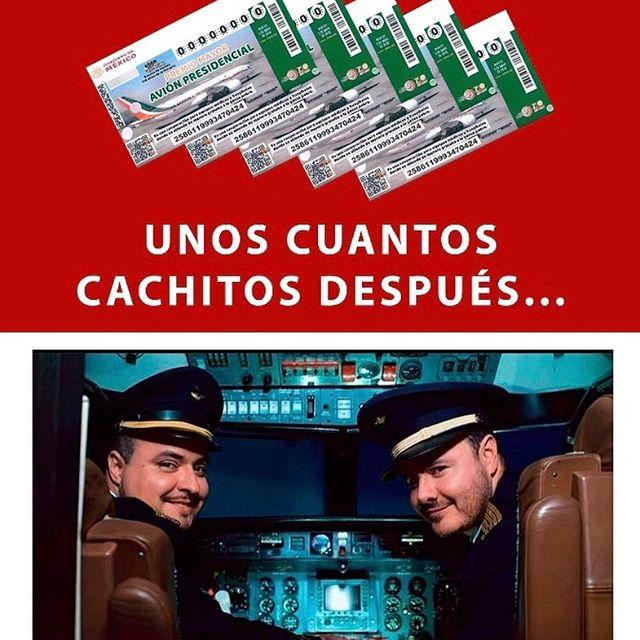 jajaja están en todo!!! Ya Listos para la rifa?? 🤣🤣🤣🤣🤣 #AviónPresidencial #RioRoma