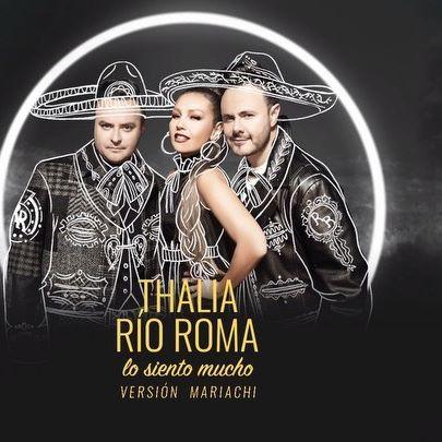 Ahora si… #YaSeTeMurioTuPendej@ 😱😱😱 El Lyric video de #LoSientoMucho Versión #Mariachi con nuestra queridísima @thalia ya está en @youtube Dale play!! 🔥🔥🔥🔥🔥