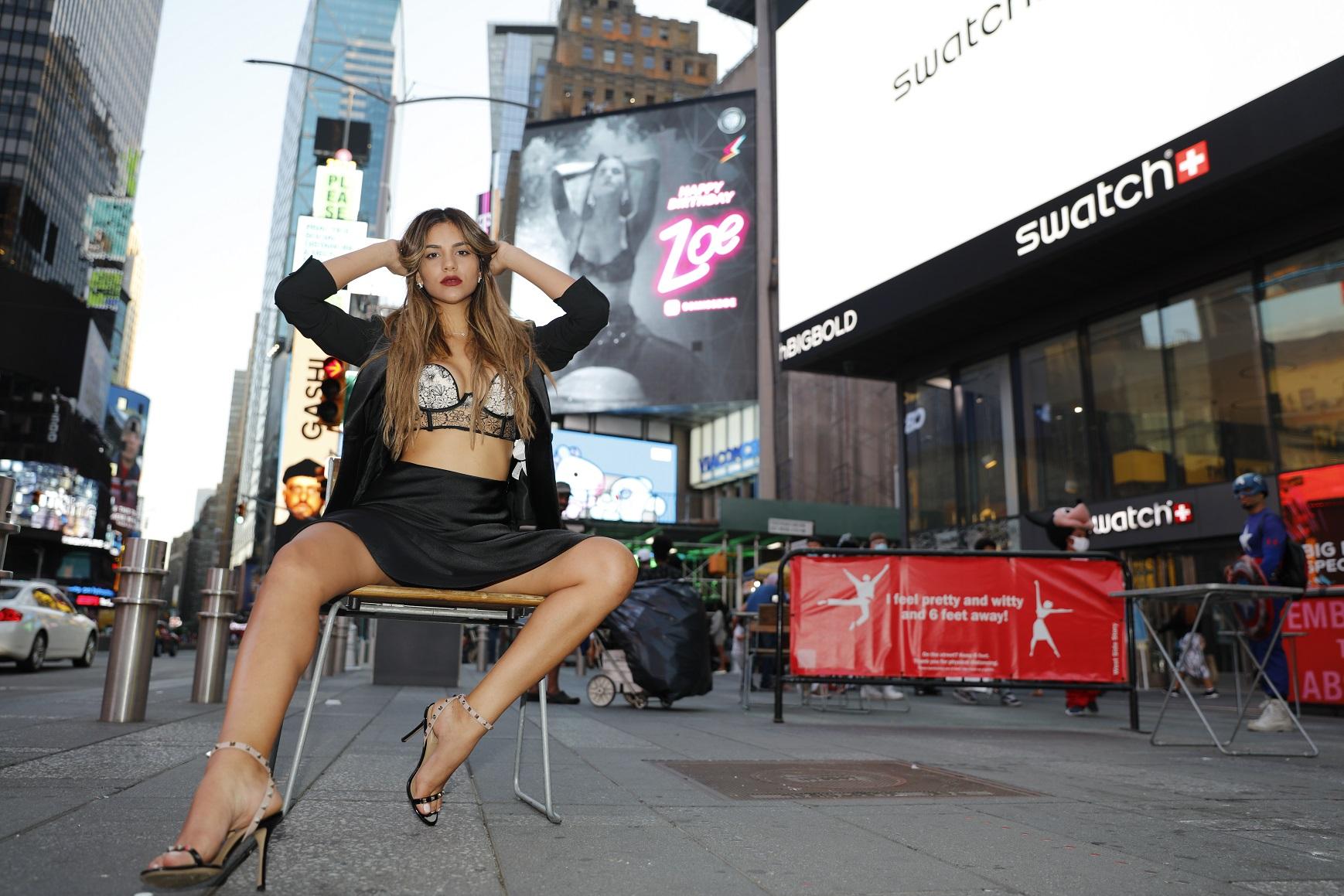 Zoe Gracia, la nueva promesa del modelaje