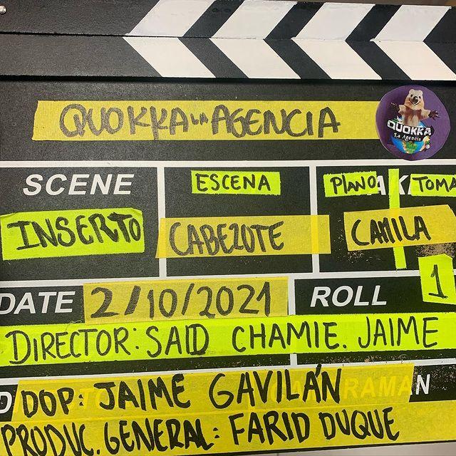 """New project  QUOKKA  """"La agencia""""  Sacara muchas sonrisas   Excelente equipo de trabajo  🎬🎥 👌🏻👁"""